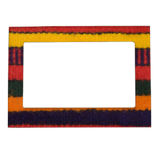 Native American Navajo Indian rainbow color Magnetic Frame