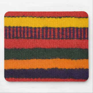 Native American Navajo Indian rainbow color Mouse Pad