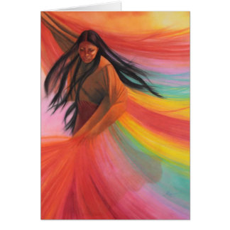 Native  American Paper Products Greeting Card