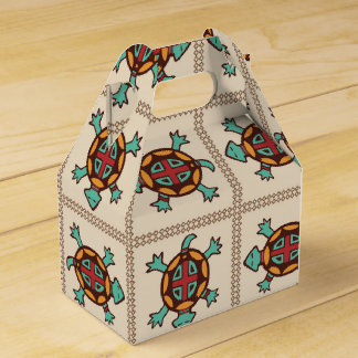 Native american pattern favour box