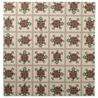 Native american pattern napkin