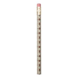Native american pattern pencil