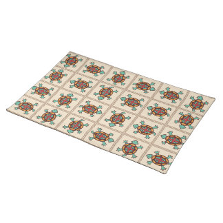 Native american pattern placemat