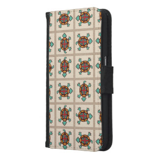 Native american pattern samsung galaxy s6 wallet case