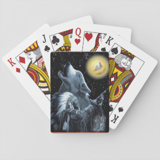Native American playing card deck