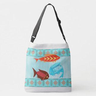 Native American River Folk Crossbody Bag