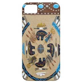 """""""Native American Sandpainting"""" Western IPhone 5 Ca Case For The iPhone 5"""