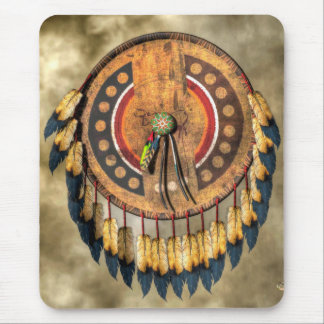 Native American Shield Mouse Pad