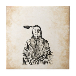 Native american designs decorative ceramic tiles zazzle for Native american tile designs