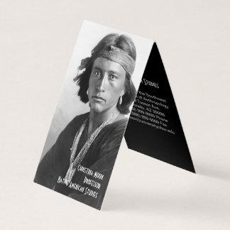 Native American Studies Business Card