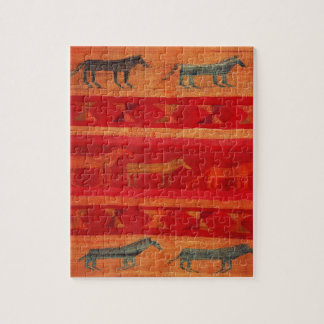Native American Style Jigsaw Puzzle