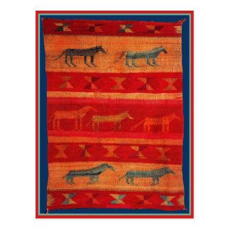 Native American Style Postcard
