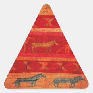 Native American Style Triangle Sticker