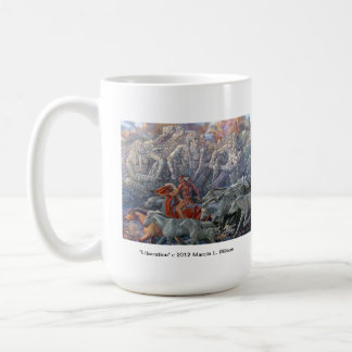 Native American subject mug