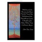 Native American Sun Dance Tree of Life Card