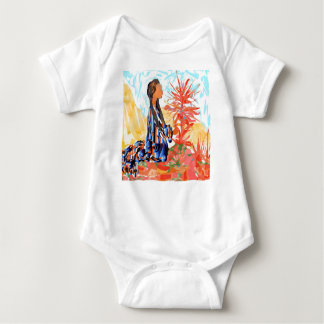 "Native American ""The giving Tree"" Baby Bodysuit"