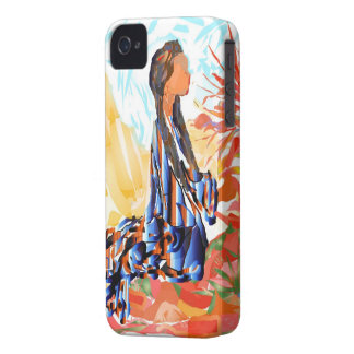 "Native American ""The giving Tree"" iPhone 4 Cases"