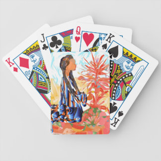 "Native American ""The giving Tree"" Poker Deck"
