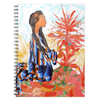 """Native American """"The giving Tree"""" Spiral Notebook"""