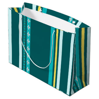 Native American Thunderbird Turquoise Gift Bag