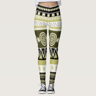 Native American Tribal Art Leggings