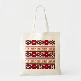 Native American Tribal Geometric Pattern Tote Bag
