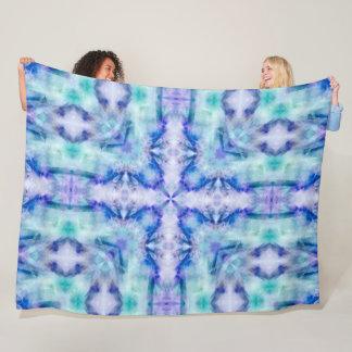 Native American Tribal Spirits Mandala Fleece Blanket