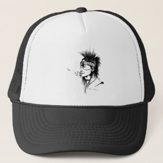 NATIVE AMERICAN TRUCKER HAT