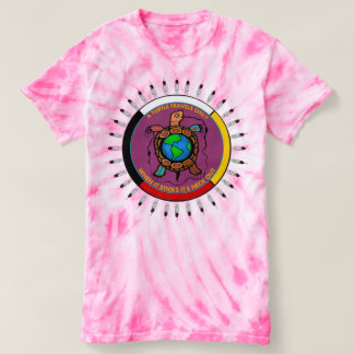 Native American Turtle Island inspirational T-Shirt
