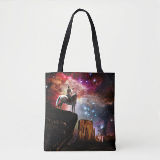 Native American Universe All-Over-Print Tote Bag
