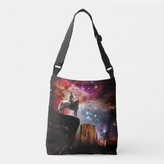 Native American Universe Cross Body Bag
