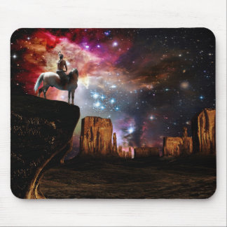 Native American Universe Mouse Pad