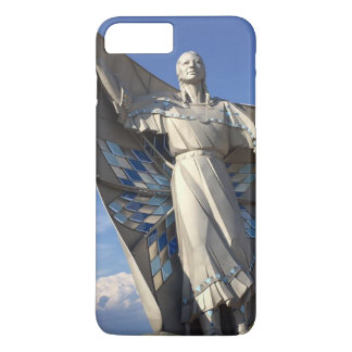 Native American Woman Statue iPhone 8 Plus/7 Plus Case