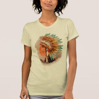 Native American Young Indian Shief Women's T-shirt
