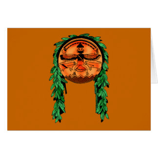 Native American Zuni Shield Card