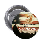 Native Americans for Obama 2012 Pins