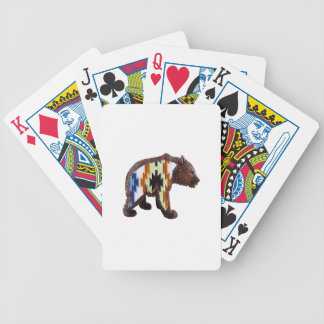 Native Bear Bicycle Playing Cards