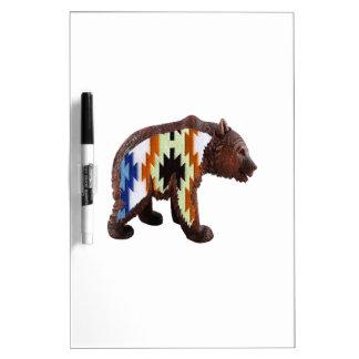 Native Bear Dry Erase Board