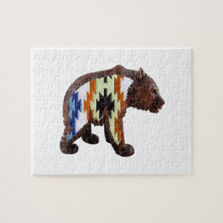 Native Bear Jigsaw Puzzle