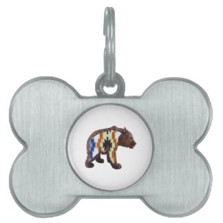 Native Bear Pet ID Tag