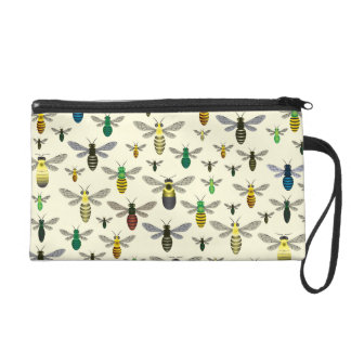 Native Bees Wristlet