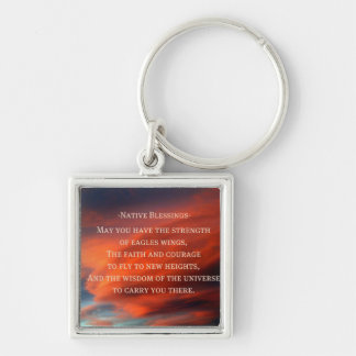 Native Blessings Key Ring