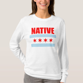 Native Chicago Flag T-Shirt