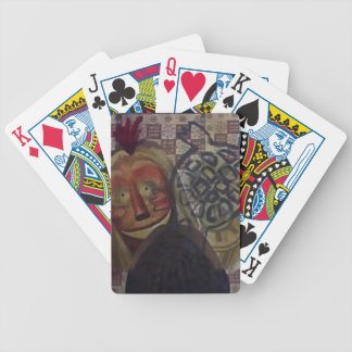 Native Crazy Quilt Bicycle Playing Cards