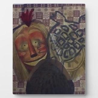 Native Crazy Quilt Plaque