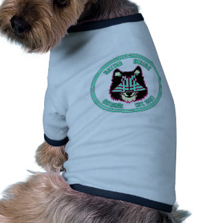 Native Design Custom Graphic Pet top Ringer Dog Shirt