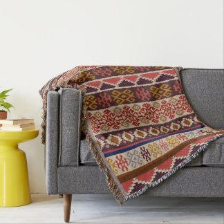 native,ethnic pattern throw blanket