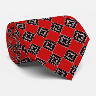 Native ethnic pattern tie