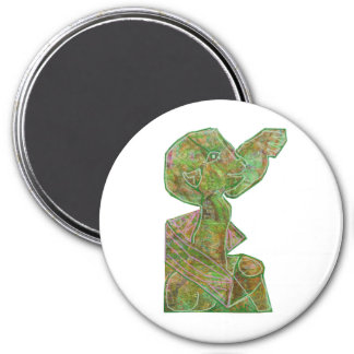 Native Ethnic Spirits Ghosts Masks Emblem Giveaway Fridge Magnets