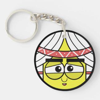 Native Face Key Ring